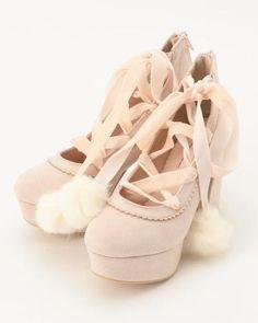 ピンク (010) Pretty Outfits, Cute Outfits, Pretty Clothes, Homecoming Shoes, Ballet Shoes, Dance Shoes, Liz Lisa, Kawaii Fashion, Pumps