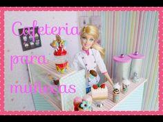 Cómo hacer una cafeteria para muñecas Barbie
