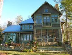 Great lake house exterior