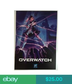 Video Game Merchandise Shipsflat Blizzcon Poster 2016 Overwatch Sombra 14X20 Blizzard Warcraft Heroes #ebay #Electronics
