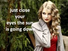 Taylor Swift; Safe and Sound, from the Hunger Games
