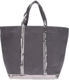 Vanessa Bruno sequin detail shopper bag