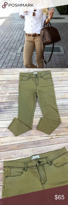 NWOT Free People Tan Ankle Skinny Jeans Brand new without tags Free People Tan Ankle Skinny Jeans Rise 9/11 Inseam 26 Pic 1 for style inspiration  Cotton/ Rayon/ poly/ elastane Free People Jeans Ankle & Cropped