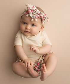 Just Couture Ivory Floral Tee & Bubble Shorts Set - Infant, Toddler & Girls by Just Couture #zulily #zulilyfinds