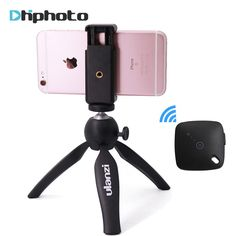 Ulanzi mini Tripod with Holder Mount / Selfie Portable Camera Tabletop Travel Tripod for iPhone 7 Plus Sony Samsung Mobile Phone //Price: $11.70//     #shop