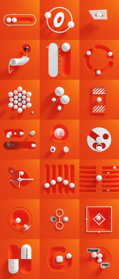 This is a series of 21 animations inspired by user interfaces. They all stick to a theme of white and orange, with simple, machine-inspired animation. Enjoy! Mobile Ui Design, Ui Ux Design, Game Design, Layout Design, User Interface Design, Web Layout, Flat Design, Poster Design Software, Free Graphic Design Software