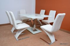 Contemporary dining furniture set