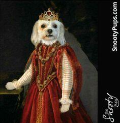 Princess perfect! #bestgiftever #lovepuppies #dogsofinstagram #custompetportrait #catlover #ilovemydog #love #doglover #etsyshop #birthdaygift #petportrait #dog #dogportrait