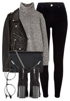 """Untitled #6536"" by laurenmboot ❤ liked on Polyvore featuring River Island, Margaret Howell, Jakke, Yves Saint Laurent, rag & bone and Ray-Ban"