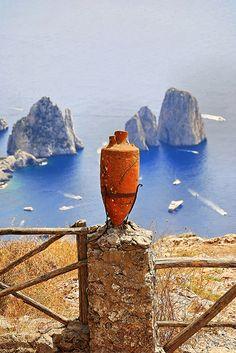 Anacapri . Island of Capri . Italy