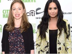 Demi Lovato is in a Twitter feud with her best friend and Chelsea Clinton butted in