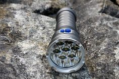 LED Flashlight U2 5000 lumens 7 Total Emitters for outdoor sport | Buy Flashlight on FlashlightShot.com