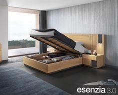 Canapé de la colección Esenzia 3.0  Disponible en diferentes medidas  - Baixmoduls es fabricante de Salones, Comedores, Dormitorios y Armarios.