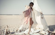 beach Tiedyekimono spell and the gypsy collective