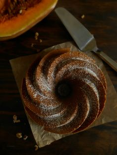 RECELANDIA: Bundt cake de calabaza y nueces
