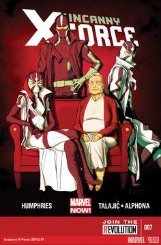 Uncanny X-Force Vol 2 - Cover art by Kris Anka Marvel Now, Marvel Comics, Comic Book Artists, Comic Books, Wolverine Costume, Mark Bagley, X Force, Comic Book Covers, Xmen
