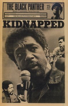 """Kidnapped"" This cover refers to the Chicago Eight trial. Eight people were arrested at the 1968 Democratic National Convention. Bobby Seale, the eighth person charged, had his trial severed during the proceedings, lowering the number from eight to seven.  The Black Panther Party (August 30, 1969):  [click on this image to find a bundle of videos and analyses related to the sociological study of social movements]"