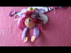 ▶ Muñeca fofucha para decoración - YouTube