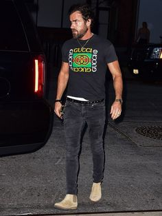 Justin Theroux Masters the Ultimate Cool-New-York-Guy Outfit
