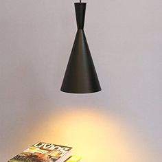 Retro Vintage Pendant Light Shades Contemporary Pendant Ceiling Light Black Metal Ceiling Lighting E27 Light Lamp Fixture (Type A)