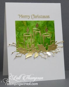 Today Im sharing four QACAS (as Darnell would say) cards . quick and clean and simple. :) Alcohol Ink backgrounds with white die-cuts --- simple. Again with the alcohol inks backgrounds . hope you arent sick of seeing these. :) As I men Cas Christmas Cards, Christmas Paper Crafts, Homemade Christmas Cards, Handmade Christmas, Holiday Cards, Diy Christmas, Christmas Abbott, Christmas Sayings, Christmas Island