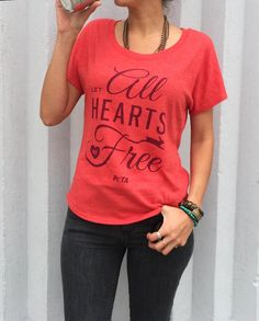 All hearts should be free! Wear it if you agree: http://peta.vg/hearts