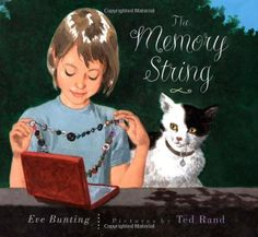 The Memory String by Eve Bunting http://www.amazon.com/dp/0395861462/ref=cm_sw_r_pi_dp_InLowb0EDST1Q