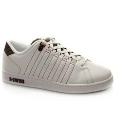 K*Swiss Male Lozan Tt Too Leather Upper Fashion Trainers in White and Brown K*SWISS Lozan Tt Too The popular tennis shoe with tongue twist feature from K-Swiss. Leather upper 5 stripe detail on both sides with contrast stitched edging and a D ring lacing system. Cushioned rub http://www.comparestoreprices.co.uk/trainers/kswiss-male-lozan-tt-too-leather-upper-fashion-trainers-in-white-and-brown.asp