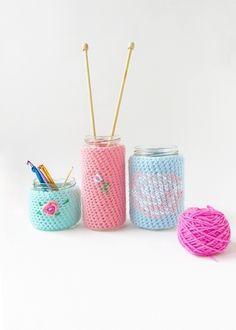 Crochet Floral Cozies