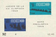 Olympic Games 1968 Stamps