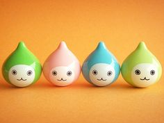 Kawaii Cute Water Drops Roly Poly Pichon Kun Japanese Character