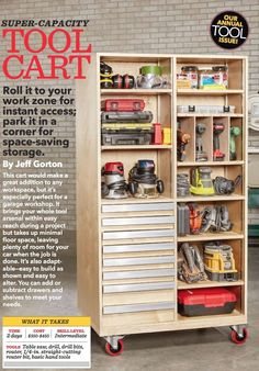 How To Build Garage Storage Cabinet and Pics of Garage Organization Austin. : How To Build Garage Storage Cabinet and Pics of Garage Organization Austin. Small Garage Organization, Garage Tool Storage, Garage Storage Cabinets, Workshop Storage, Garage Tools, Organization Hacks, Garage Workbench, Garage Shelving, Workshop Ideas