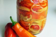 Sweet and Spicy Pickled Peppers Recipe - The Amateur Gourmet, via Flickr