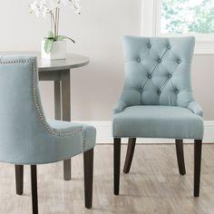 Sky Blue Side Chair