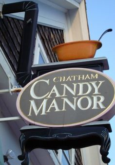 Great Candy & Fudge at the Candy Manor-Chatham, Cape Cod.  I will be enjoying this place very soon!