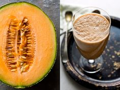 Melon Pomegranate Almond Smoothie — Recipes for Health - NYTimes.com