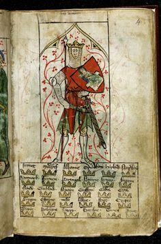 http://www.bl.uk/catalogues/illuminatedmanuscripts/ILLUMIN.ASP?Size=mid&IllID=51430 Royal 20 A II f. 4 King Arthur