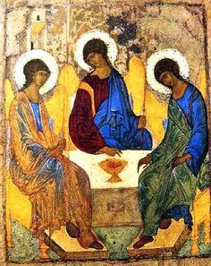 Andrej Rubljov:  A Szentháromság-ikon