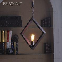Paibolan промышленность северные винтажный американский кантри чердак ресторан барный стол люстра с P023 купить на AliExpress