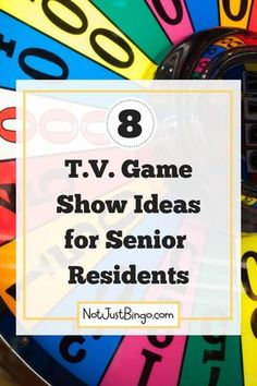 Would your assisted living residents rather watch television game shows than be in your activities? If so, then keep reading to learn how to add fun T. game shows to your senior activity program! Games For Elderly, Elderly Activities, Dementia Activities, Work Activities, Therapy Activities, Winter Activities, Physical Activities, Memory Games For Seniors, Activities For Adults