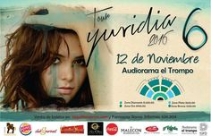 Ya  tienes tus boletos para el concierto de Yuridia en Tijuana? Puedes comprarlos en Taquilla Express ubicados en Hotel Real Inn Auditorio Municipal y El Foro. O en Farmacias Roma para más información llamar al 634-36-14