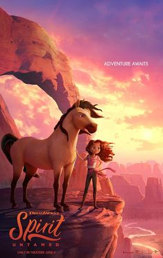 Spirit Untamed Movie Review Adventure Awaits, Adventure Movies, New Movies, Movies Online, Family Movies, Trailer Oficial, Cinema, Dreamworks Animation, Animation Movies