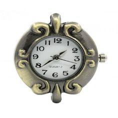 Ρολόι Μπρονζε Color με Μηχανισμό Quartz- 30x27mm   -1τεμ