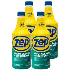 Zep 32 Oz Grout Cleaner And Whitener Case Of 4