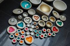 """Deko-Objekte - Beton Schale """"Herz"""" - ein Designerstück von lucyvee bei DaWanda"""