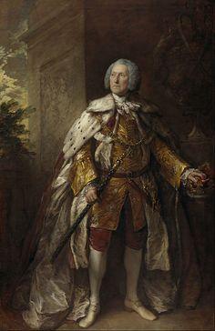 Thomas Gainsborough - John Campbell, 4th Duke of Argyll