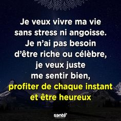 Trouvée sur Bing s… Message Positif, Good Quotes For Instagram, Strong Words, Quote Citation, French Quotes, Perfection Quotes, Favorite Words, Positive Attitude, Positive Affirmations