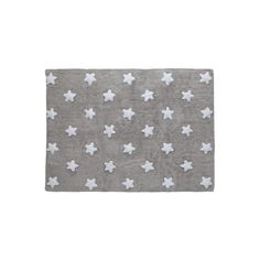 Grey Stars White 120x160