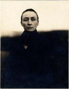 Georgia O'Keeffe ca. 1920 by Alfred Stieglitz