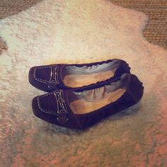 Tods loafers- size 7.5 Selling a beautiful pair of dark brown suede loafers by Tods. Condition is very good. No stains. Worn gently but no longer needed. Tod's Shoes Flats & Loafers